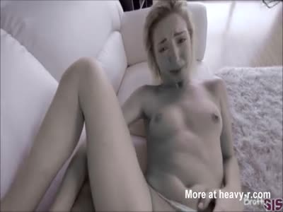 Blonde fucked by stepbrother