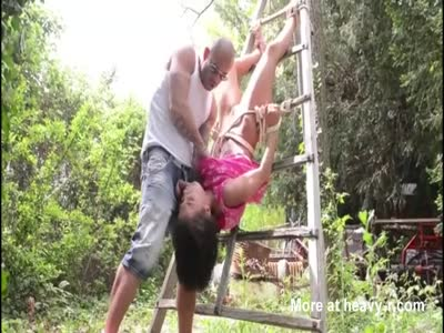 Fucking Tied Girl In Backyard