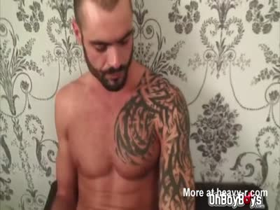 Hot gay anal threesome with big dicks