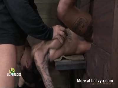 Teen tied crying hatefuck 2