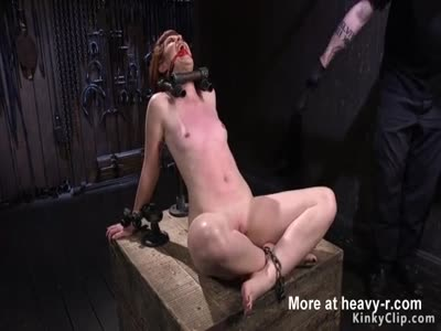 Redhead Slave In Straitjacket