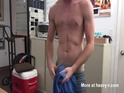 Stiff penis pounding naughty dude