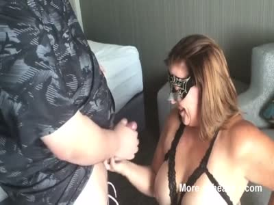 Wife Takes Facial From Stranger