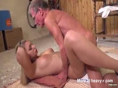 Curious Teen Fucking Old Man