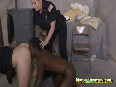 Milf cops make cheap pimp bang their cock hungry cunts