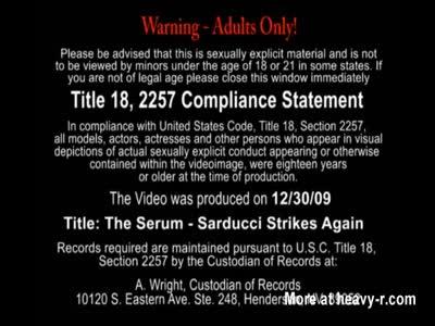 The Serum Sarducci Strikes Again
