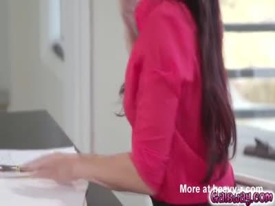 A pussy massage for birhday girl Aidra