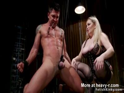 Mistress Anal Torments Male