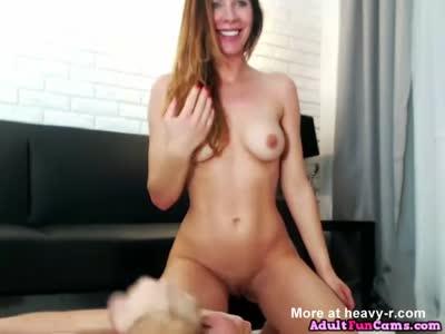 Naughty Milf Sucking Cock