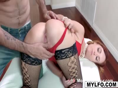 This Redhead MILF Gets Dominated