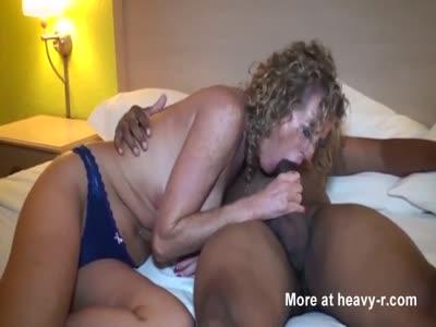 Cuckold wife fucks black man