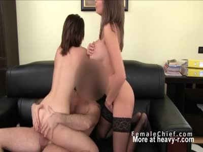 Threesome With Agent
