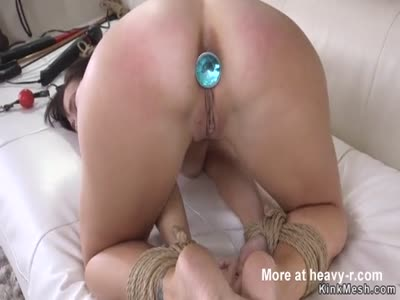 Husband Fucks Buttplugged Wife
