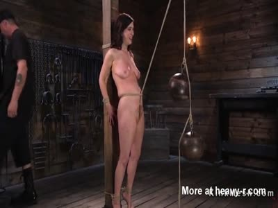 Suffering Girl In Bondage