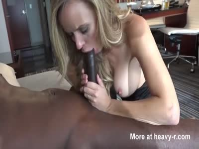 Petite Blonde Takes Huge BBC