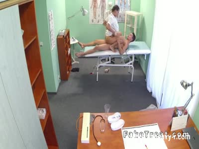 Horny Nurse Rides Male Patient