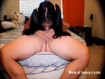 HD Heather Deep snack time amazing swallow
