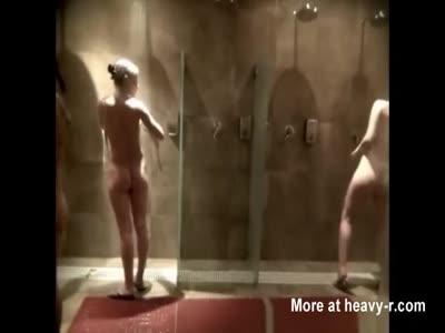 MILFs In Shower