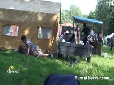 Public Sex At Campsite
