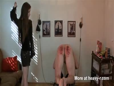 Caned black ass #12