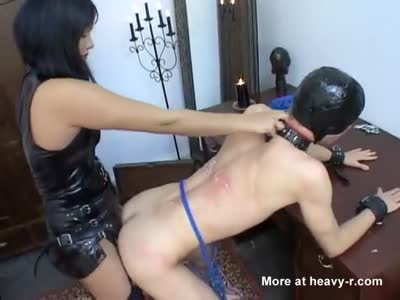 Pegging Slave Boy
