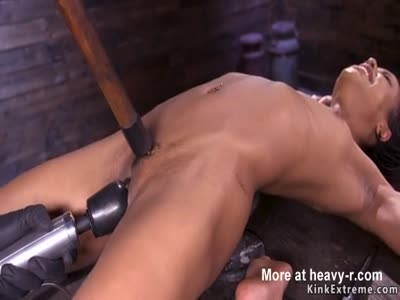 Ebony Sub Electro Shocked And Drilled