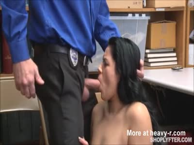 Teen fucked for shoplifting