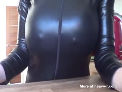 Busty Mom Lactates Tits