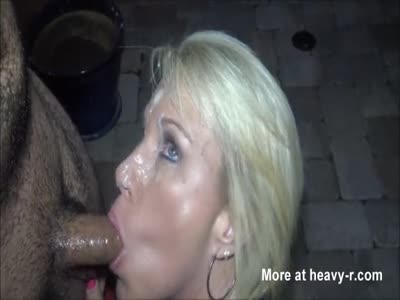 Young boy tries to cum on hot milf