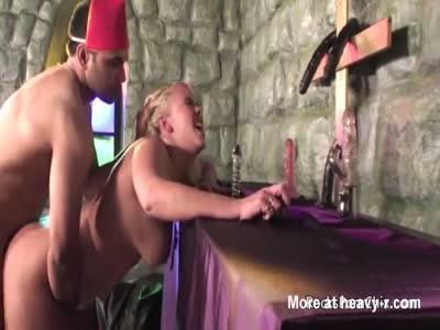 Vicar Fucking Chubby Blonde