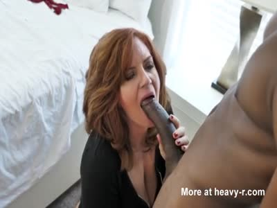 MILF Having Her First BBC Experience