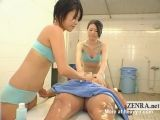 Soapy Spa Massage With Happy End