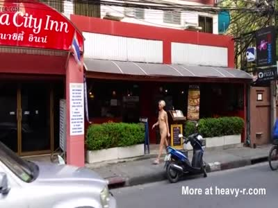 Naked girl in bangkok