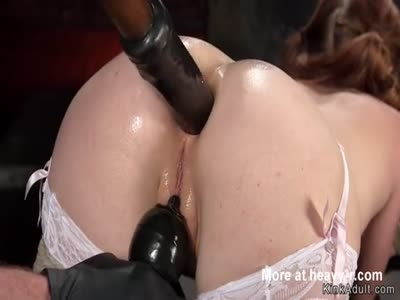 Dildo Fucked In All Holes