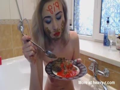 Messy Shit Girl