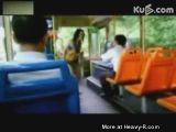 Facekick in chinese bus
