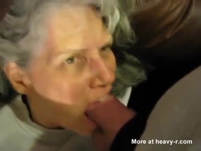 Blowjob By Mother-in-Law
