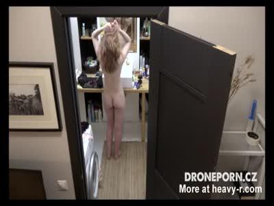 Spying In Bathroom