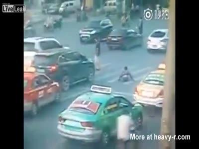 legless man run over