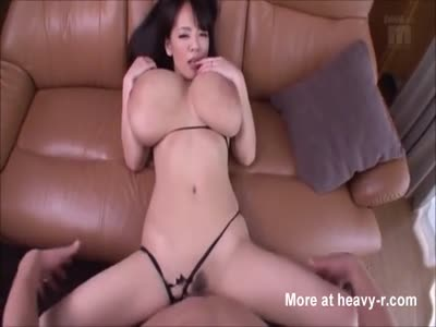 Japanese MILF And Her Giant Boobs