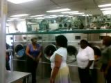 Ghetto laundromat fight