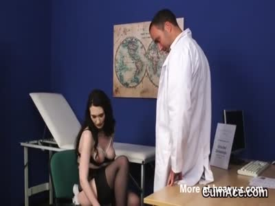 Undressing For Doctor