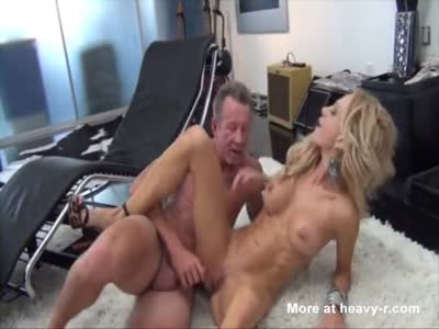 Sexy Blonde Fucking Old Dude