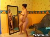 Pregnant Woman Masturbating