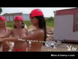 Crazy Naked Demolition Girls
