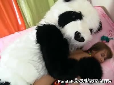 Girl Gets Fucked By Panda