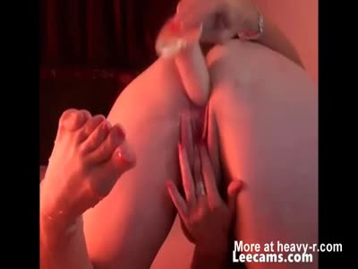 Ass Fucking With Dildo