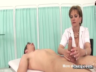 Unfaithful Lady Jerking Cock