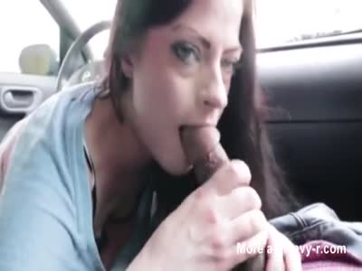 Cheating Wife Sucking Cock In Car