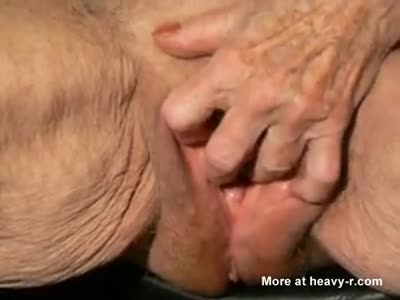 Granny's 80 Year Old Pussy